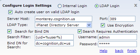 Configuring LDAP - Cognition Support Wiki