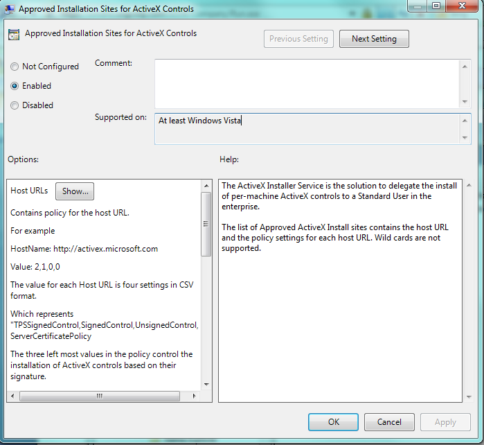 Viewing list of activeX controls in Windows 7 - Microsoft Community