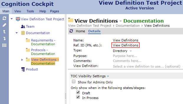 Custom View Definitions - Cognition Support Wiki