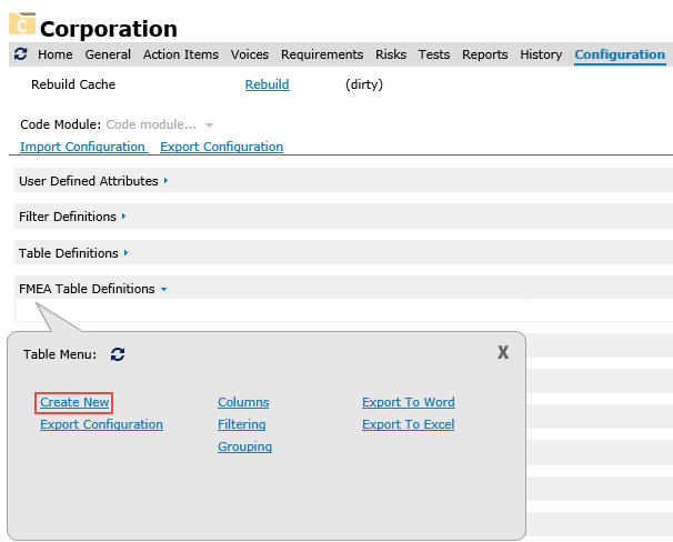 Sample Custom Adhoc FMEA Table - Cognition Support Wiki